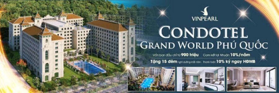 Tổng quan dự án Condotel Grand World Phú Quốc